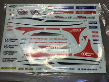 Thunder Tiger PV0843 Mini Titan SE Decals RC Heli spares