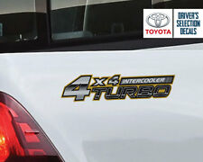 Toyota Hilux 4x4 Turbo Intercooler TRD side sticker decals graphics