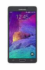 "US Seller New Samsung Galaxy Note 4 Black 5.7"" AT&T 32GB 4G LTE IV N910A Note4"