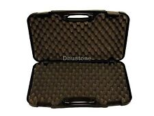 Large Black ABS Hard Pistol Case