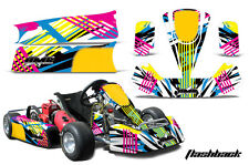 AMR Racing Paul Tracy PKT Kid JR Cadet Kart Graphic Decal Kit Parts FLASHBACK