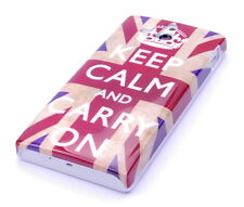 Schutzhülle f Sony Xperia U ST25i Case Hard Cover keep calm on England UK GB