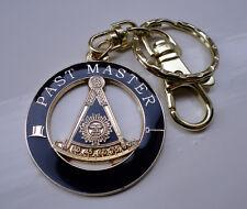 ZP148 Masonic Masons Keyring PAST MASTER Freemason Unusual