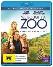 We Bought A Zoo (Blu-ray, 2012, 2-Disc Set)