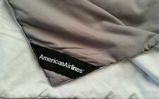 Travel Blanket AMERICAN AIRLINES first class Blanket JOHN HORSFALL NEW