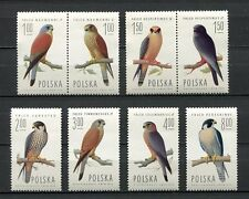 35879) POLAND 1975 MNH** Falcons - Birds 8v. Scott# 2074/81