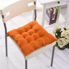 Orange Dining Garden Patio Cushion Home Kitchen Office Chair Tie On Seat Pads