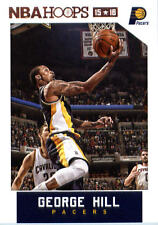 2015-16 Panini NBA Hoops #41 George Hill Indiana Pacers NM Trading Card
