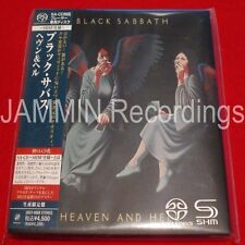BLACK SABBATH - HEAVEN AND HELL - JAPAN MINI LP SACD SHM - UIGY-9088 - OOP CD