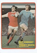 TOMMY BOOTH MANCHESTER CITY 1968-1982 ORIGINAL HAND SIGNED MAGAZINE CUTTING
