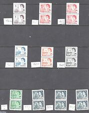Canada ALL DIFFERENT CENTENN. COIL PAIRS SCOTT 466/550pv MINT NH/USED (BS7849-6)
