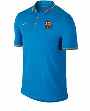 Men's NIKE FC Barcelona Authentic League Polo Shirt - Small - Blue - 666656-435