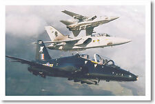 Three Military Jet Fighters - Poster