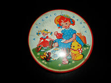 "Delightful Vintage Toffee Tin ""A PICNIC PARTY"" ~ Nice Retro Stocking Filler"