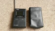 VINTAGE CASIO ANALOG LCD POCKET COLOR TELEVISION- TV-430