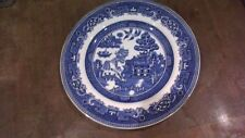ALFRED MEAKIN OLD WILLOW  DINNER PLATE 24.5 cms