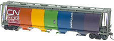 InterMountain HO-Scale Cylindrical Covered Hopper Canadian National/CN Rainbow