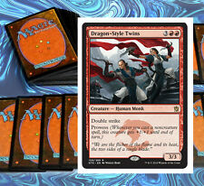 mtg JESKAI DECK red blue white khans of tarkir Magic the Gathering cards lot NM