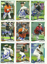 2014 Topps Pro Debut TOM WINDLE Signed Card PHILLIES auto rc great lakes loons