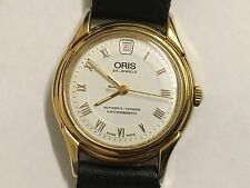 Vintage Men's Oris Automatic Wristwatch 25 Jewels Swiss Made Working