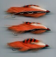 Trout Flies: New Snake Flies. Tiger Prawn: Tied in the UK x 3 size 8 hook