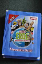 REWE Unsere Erde - 10 Päckchen - 50 Bilder ungeöffnet und OVP