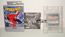 JEU SEGA GAME GEAR - SPIDERMAN COMPLET EN BOITE