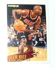 CARTE  NBA BASKET BALL 1995  PLAYER CARDS GLEN RICE (124)