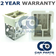FOR VAUXHALL ASTRA H MK5 1.6 TURBO PETROL (2007-2011) HEATER BLOWER FAN RESISTOR