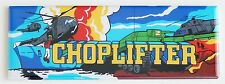 Choplifter Marquee FRIDGE MAGNET arcade video game header helicopter