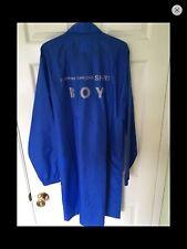 Comme des garcons blue shirt coach jacket/coat M