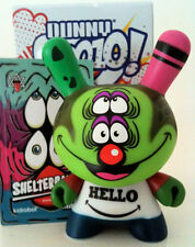 "DUNNY 3"" 2010 SERIES SHELTERBANK HELLO GOODBYE 2/25 KIDROBOT VINYL TOY FIGURE"