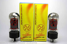 NEW JJ TESLA 6V6S MATCHED PAIR  VACUUM TUBE AMP TESTED - VÁLVULA DE VACIO - 6V6