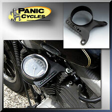 HARLEY SPORTSTER XL SPEEDOMETER SIDE MOUNT RELOCATION KIT 2004 & UP BOBBER CAFE