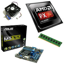 AMD FX 4300 Quad Core 4.00 GHz, 4GB ASUS m5a78lm-usb3 scheda madre Bundle