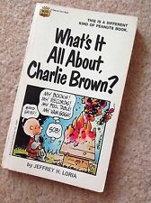 A 1968 What's It All About Charlie Brown Peanuts Snoopy Book Jeffrey H Loris