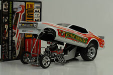 1972 Ford Mustang Kalitta quarter mile DRAGSTER FUNNY CAR 1:18 auto world ERTL