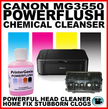 Canon PIXMA MG3550 Printer: Head Cleaning Kit: Nozzle Flush Printhead Unblocker