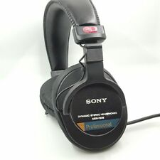 Sony MDR-7506 Circumaural Closed-Back Professional Monitor Headphone New