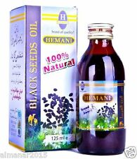 Hemani Black Seed Oil Nigella Sativa 100% Pure Kalonji Oil Natural Cure 125ml