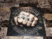 Queensryche Rare Geoff Tate Signed Frequency Unknown Limited Edition Vinyl LP !!