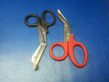 "2PC 7"" ANGLED TIN SNIP SCISSORS STAINLESS STEEL WITH VINYL HANDLE FREE SHIP US"