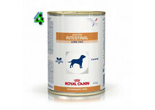 ROYAL CANIN 24 barattoli GASTRO INTESTINAL LOW FAT 410 gr umido per cane cani