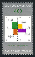 Germany 1246, MNH. C.F.Gauss,mathematician. Gauss Plane of Complex Numbers, 1977