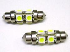 Lampada Led T11 C5W 37mm 8 Smd 5050 Siluro 360 Gradi 12V Per Insegna Taxi