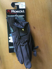 Roeckl Chester Riding Glove Brown Size 8.5