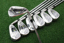 "TaylorMade 2017 M2 Iron Set 4-PW CUSTOM SPECS Steel Regular Plus 1"" & 2º Up NEW"