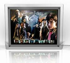 Harry Potter Episodes 1 to 7 Framed Lit Film Cell LED Back Light