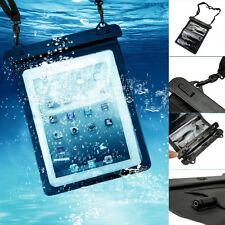 Wrist Tablet Waterproof Underwater Case Bag With Audio Cable for iPAD 2 3 4 Air