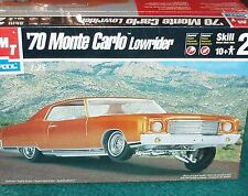 AMT 1970 CUSTOM CHEVY MONTE CARLO LOW RIDER 1/25 PLASTIC MODEL KIT